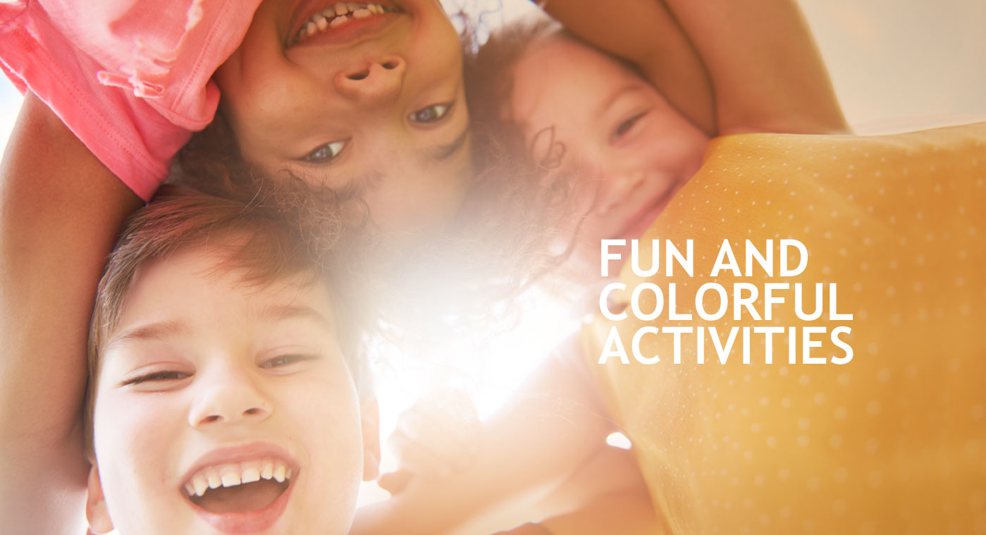Fun and colorful activities