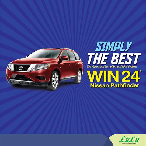 Win a Nissan Pathfinder when you shop at Lulu Hypermarket
